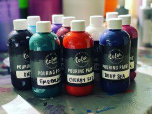 Pouring Paints